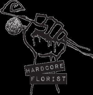 Hardcore Florist Logo